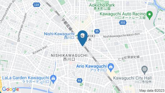 OYO Ryokan Wa Style Tokyo Map