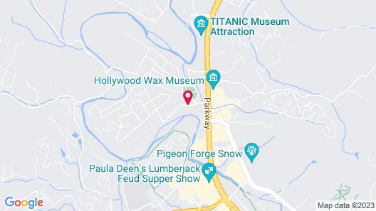 Music Road Resort Map
