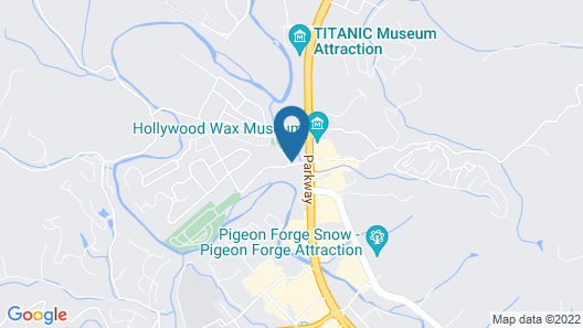 Holiday Inn Express Pigeon Forge/Near Dollywood, an IHG Hotel Map