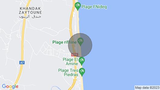 Waterfront Villa Map