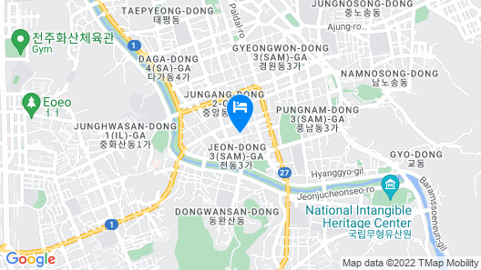 Daemyung Guesthouse Map