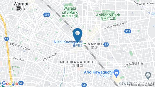 COCO STAY NISHIKAWAGUCHI EKIMAE Map