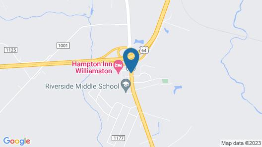 Hampton Inn Williamston Map