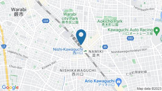 HOTEL Nishikawaguchi Weekly Map