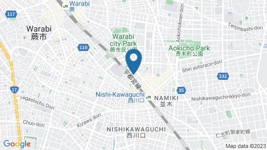 APA Hotel Nishikawaguchieki-Higashiguchi Map