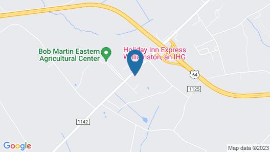 Holiday Inn Express Williamston, an IHG Hotel Map