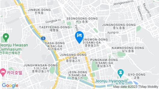 Jeonju Tourist Hotel Map