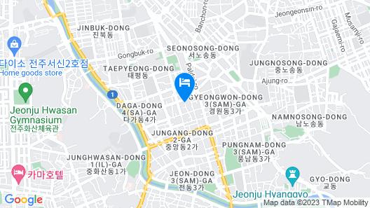 Roni Hotel Map