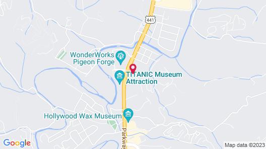 Apple Valley Inn Map