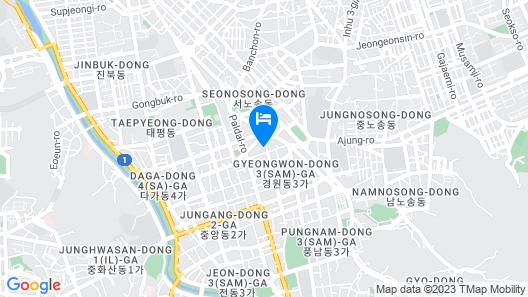 Best Western Plus Jeonju Hotel Map