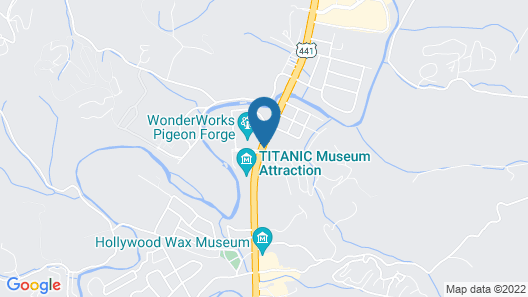 Microtel Inn & Suites by Wyndham Pigeon Forge Map