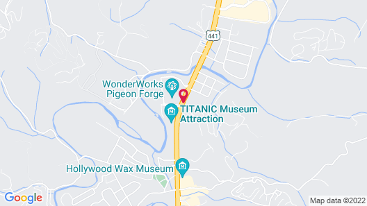 Pin Oak Parkway Inn Map