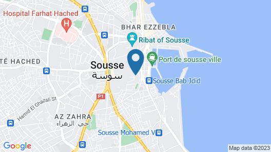 Dar Antonia Map