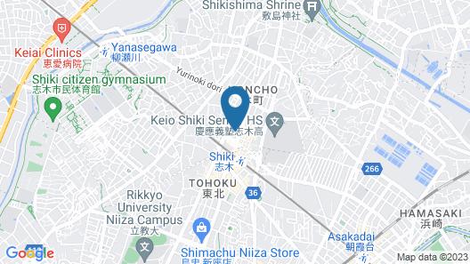 Toyoko Inn Shiki-eki Higashi-guchi Map
