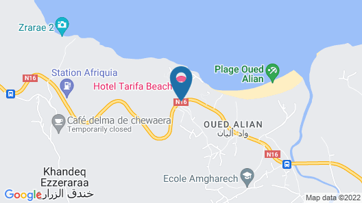 TARIFA BEACH Map