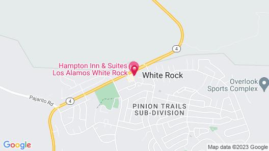 Hampton Inn & Suites Los Alamos White Rock Map