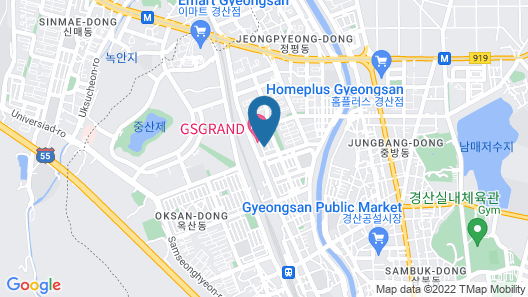 Gyeongsan Rivera Map