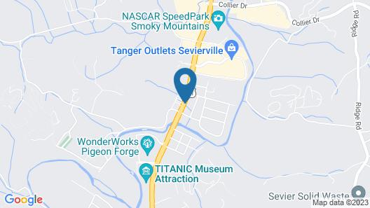 Days Inn by Wyndham Apple Valley Pigeon Forge/Sevierville Map