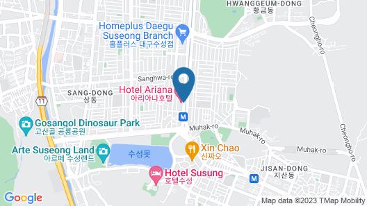 Ariana Hotel Map