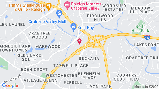 Residence Inn By Marriott Raleigh Crabtree Map