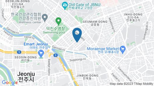 Jeonju Story Muintel Map