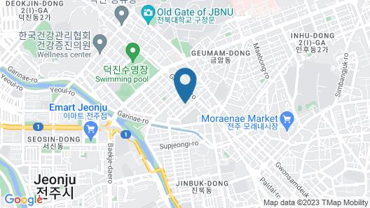 Jeonju Hotel Barahan Map
