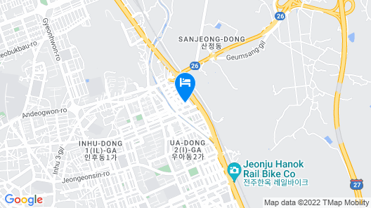 Jeonju Stay Hotel Map