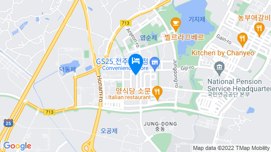 Idun Hotel Map