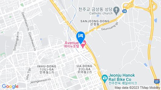 Hotel Haru Map