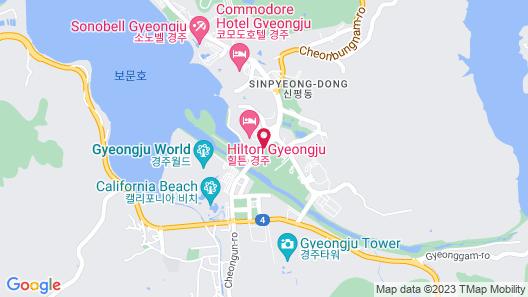 Hilton Gyeongju Map