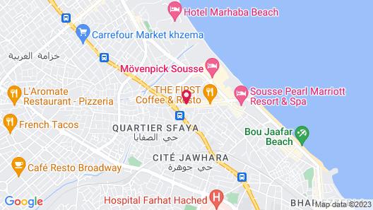 Hotel Kaiser Map