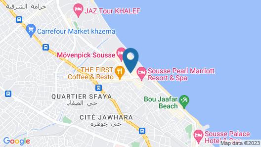 Riadh Palms Resort & Spa Map