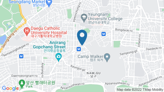 February Hotel Apsan Map