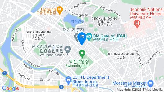 WAIKEI Hotel Jeonju Map