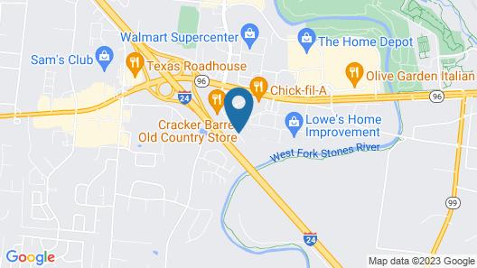 Sleep Inn Murfreesboro Map