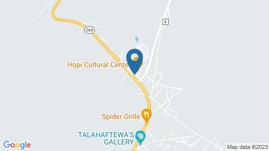 Hopi Cultural Center Map
