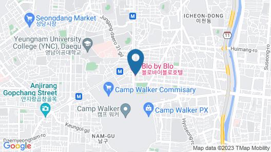 Blo By Blo Hotel Map