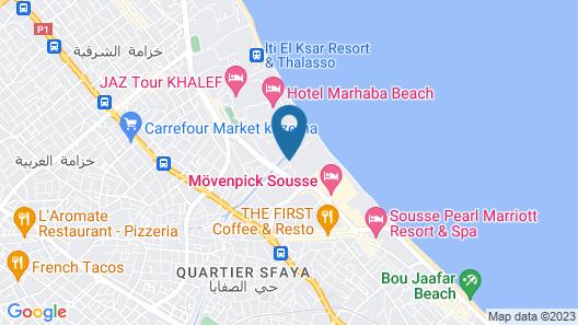Le Monaco Hôtel & Thalasso Map