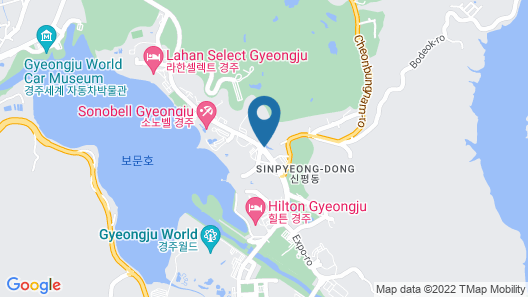 Commodore Hotel Gyeongju Map