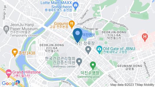 Jeonju Deokjin Tommy Map