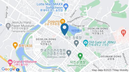 Jeonju Mari Hotel Park Store Map