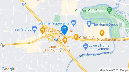 Clarion Inn Map