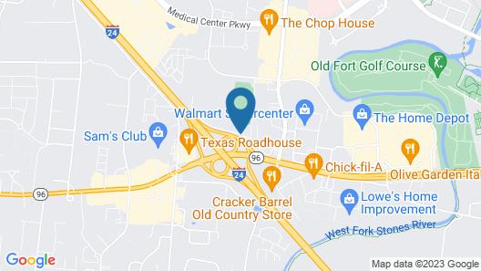 Country Inn & Suites by Radisson, Murfreesboro, TN Map
