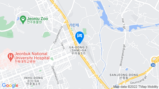Jeonju International Guesthouse & Hostel Map