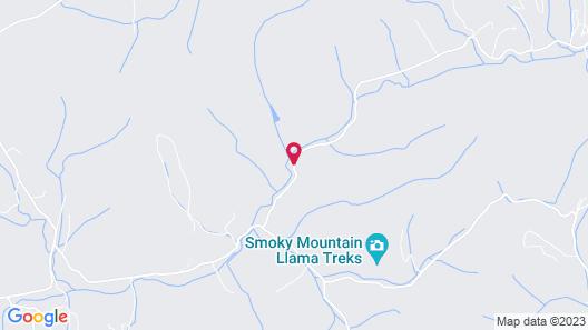 Creekwalk Inn and Cabins Map