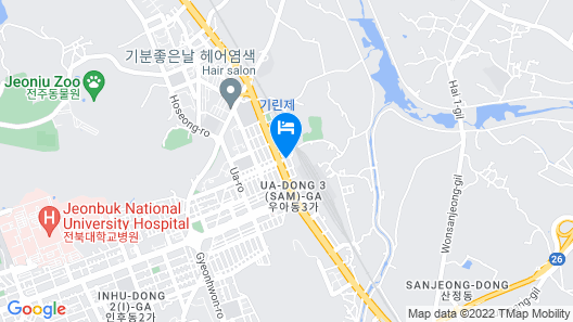 Jeonju Jeonjuyeok Guesthouse Map