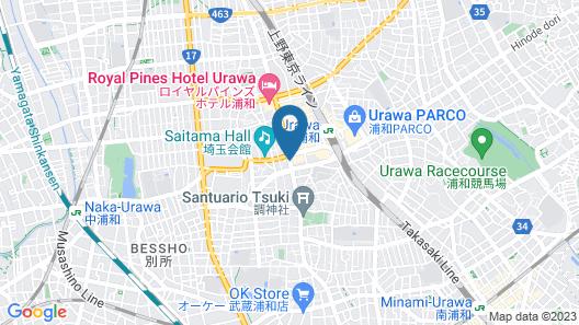 Urawa Washington Hotel Map