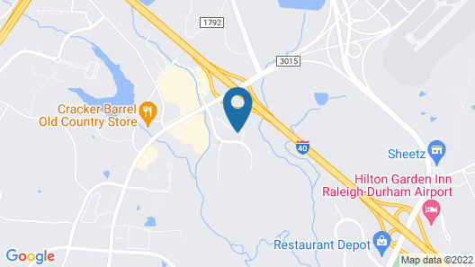 Sonesta ES Suites Raleigh Durham Airport Map