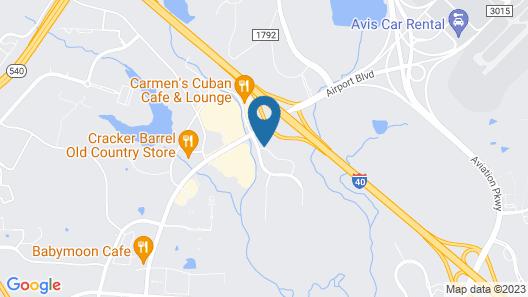La Quinta Inn & Suites by Wyndham Raleigh Durham Intl AP Map