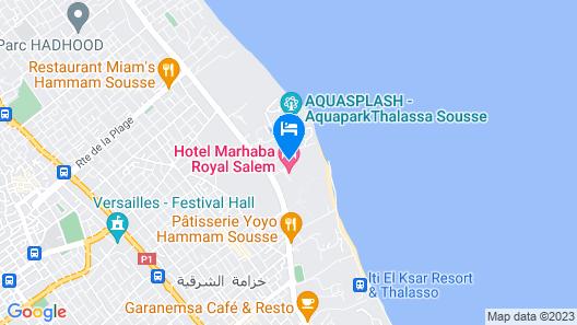 Marhaba Royal Salem Map